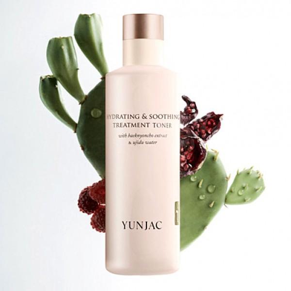 Yunjac Hydrating & Soothing Teatment Toner 高保濕舒緩柔膚水