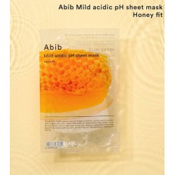 Abib mild acidic pH sheet mask : honey fit 弱酸性營養蜂蜜面膜 ♥ 1盒10塊
