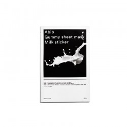 Abib Gummy Sheet mask : Milk Sticker 牛奶糖黐豆面膜 ♥ 1盒10塊