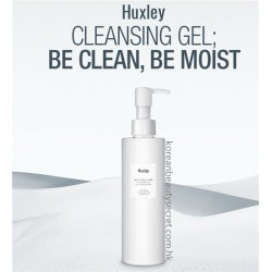 Huxley Secret of Sahara Cleansing Gel : Be Clean Be Moist 魔法水感清爽潔面透明啫喱