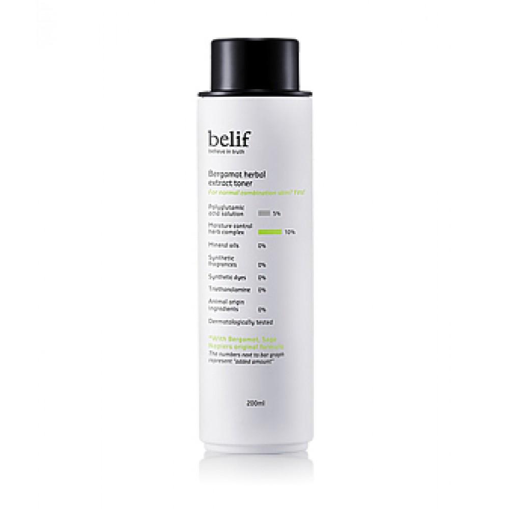 Belif Bergamot Herbal Extract Toner 佛手柑平衡保濕柔膚水