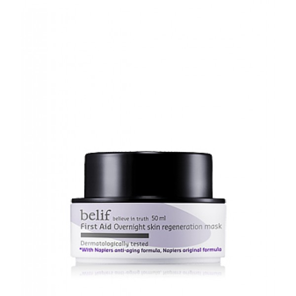 Belif First Aid Overnight Skin Regeneration Mask 彈力再生急救面膜