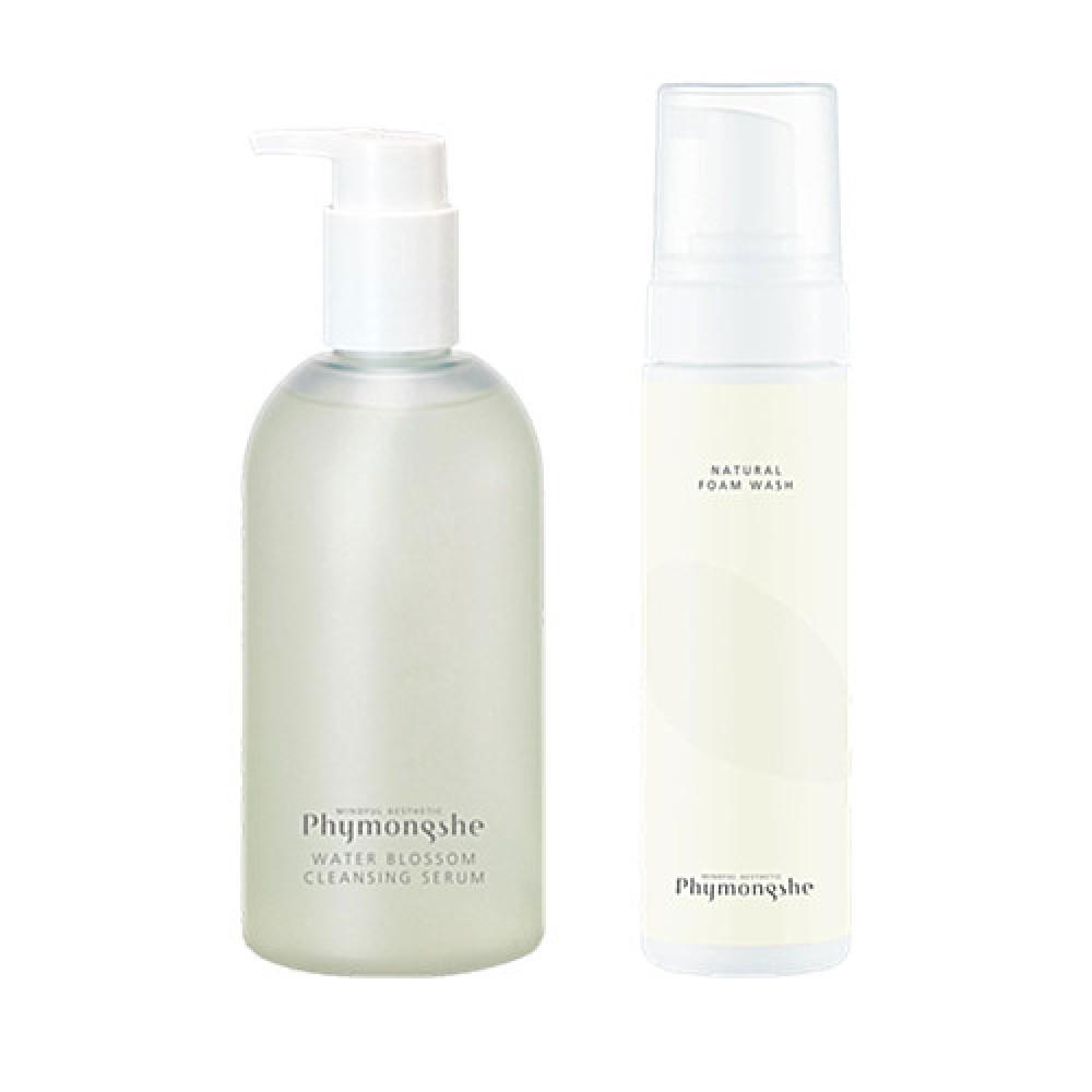 Phymongshe Water Blossom Cleansing Set 亮顏美肌卸妝潔面套裝