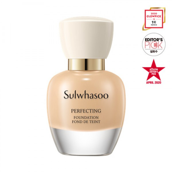 Sulwhasoo Perfecting Foundation SPF17/PA+ 雪花秀完美柔焦精華粉底