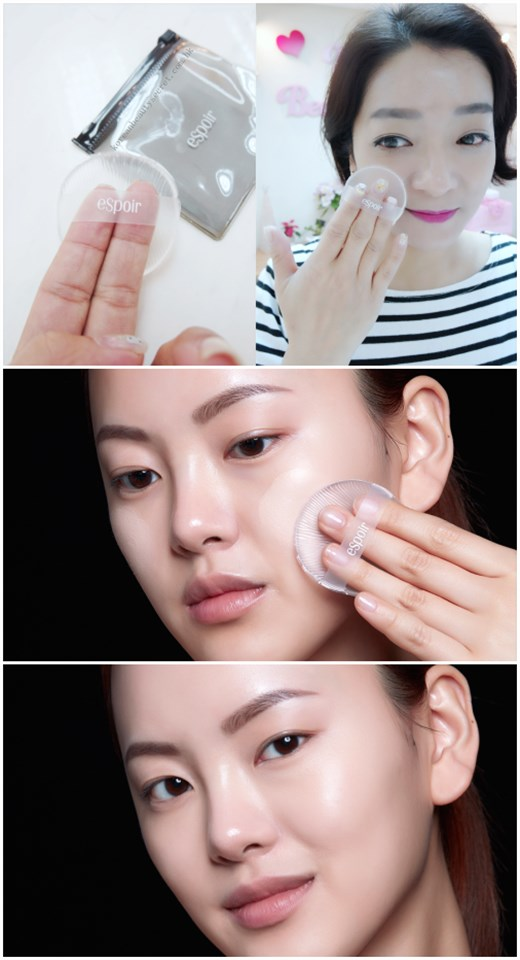 eSpoir Stainless Touch Silicone Sponge 無瑕透明啫喱粉撲