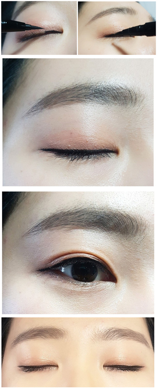 So Natural Super Eyes Long Liner Deep Black 濃黑細緻防水防油眼線筆